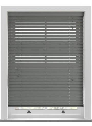 Wooden Blinds Ecostyle Java Slate Grey