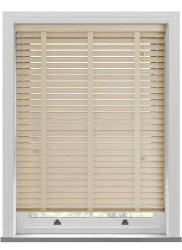 Wooden Blinds Ecostyle Taped Grained Limestone