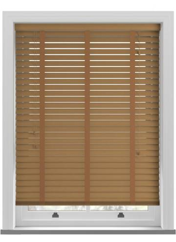 Wooden Blinds Ecostyle Taped Grained Oak