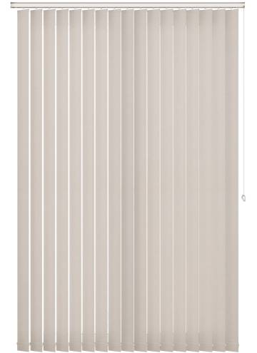 Vertical Blinds Estella Blackout Cream