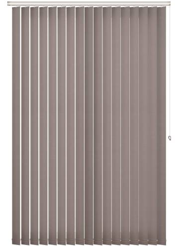 Vertical Blinds Estella Blackout Taupe Brown