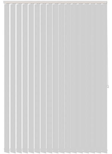 Vertical Blinds Ex-Lite PVC Blackout Light Grey