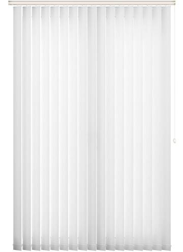 Replacement Vertical Blind Slats Fiesta White