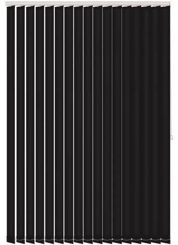 Vertical Blinds Genesis Black
