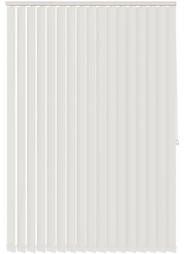 Vertical Blinds Genesis Blackout Luxe White