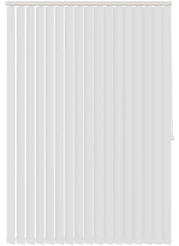 Vertical Blinds Genesis White