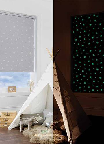 Roller Blinds Glow In The Dark Blackout