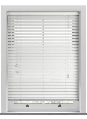 Wooden Blinds Impressions Gloss White