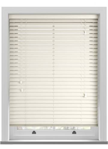 Wooden Blinds Impressions Grained Cream
