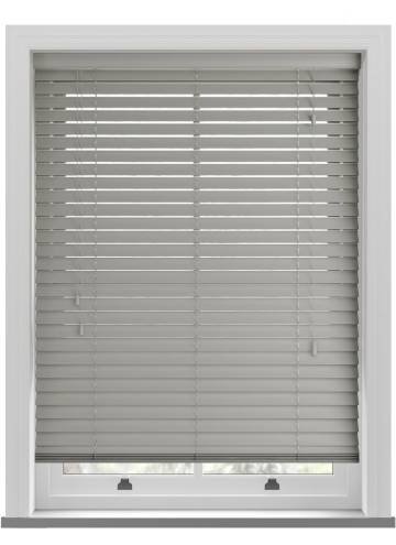 Wooden Blinds Impressions Mid Grey