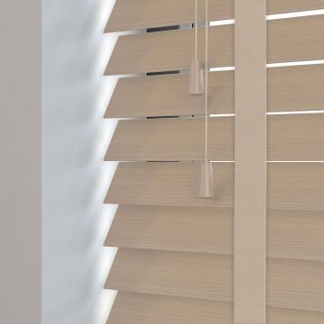 Wooden Blinds Impressions Taped Calico