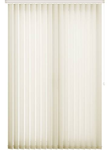 Vertical Blinds Jewel Cream