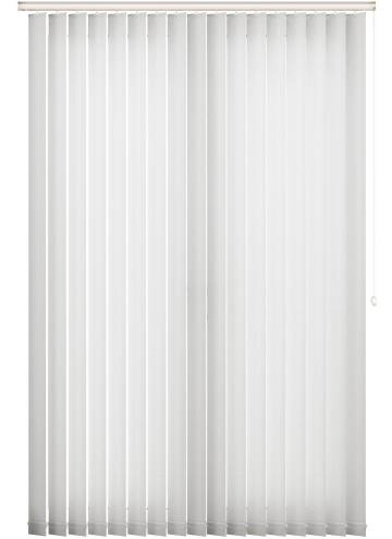 Vertical Blinds Jewel White