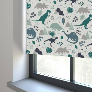 Roller Blinds Jurassic Blackout Marine