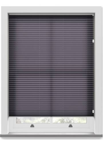 Pleated Free hanging Blinds Kana Amethyst