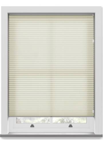 Pleated Free hanging Blinds Kana Cream