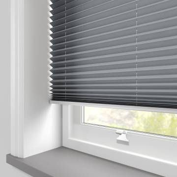 Pleated Free hanging Blinds Kana Dark Grey
