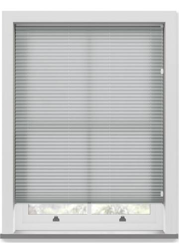 Pleated Free hanging Blinds Kana Light Grey