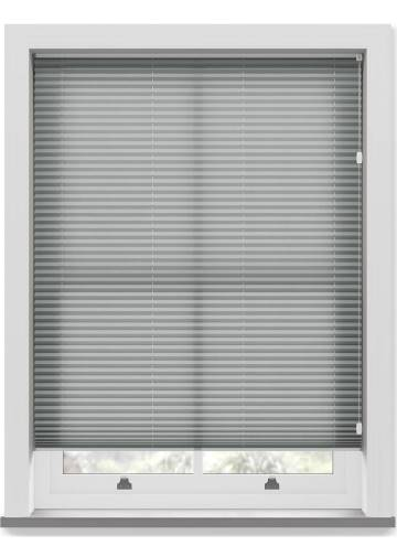 Pleated Free hanging Blinds Kana Mid Grey