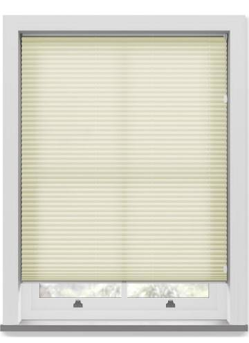 Pleated Free hanging Blinds Kana Soft Honey