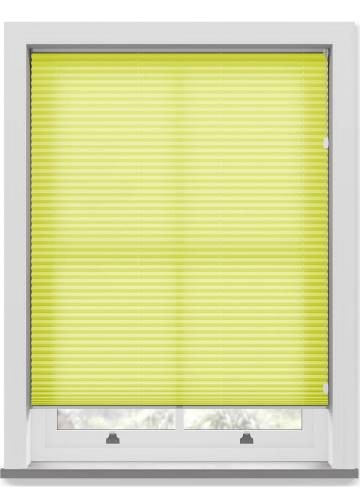 Pleated Free hanging Blinds Kana Sunkiss Yellow