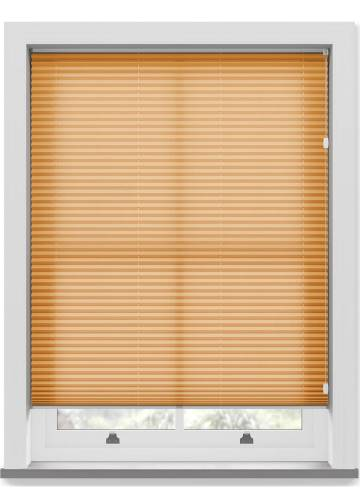 Pleated Free hanging Blinds Kana Terracotta