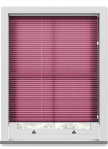 Pleated Free hanging Blinds Kana Wine