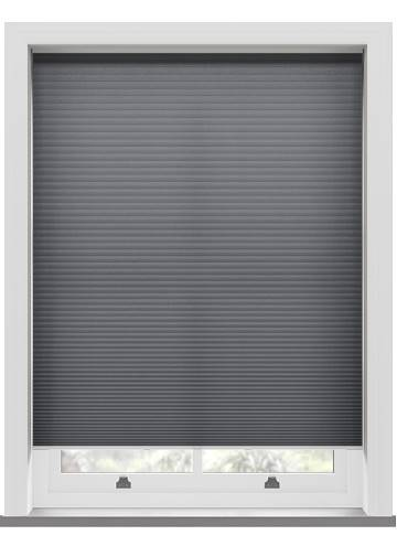 Pleated Blinds Lexington Anthracite