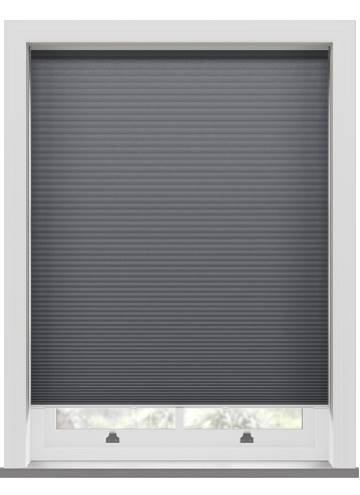 Pleated Blinds Lexington Blackout Anthracite