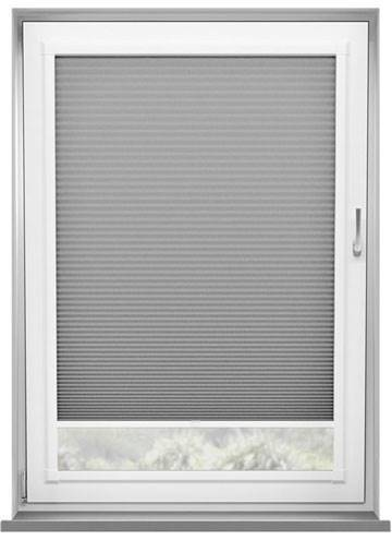 Perfect Fit Pleated Blinds Lexington Blockout Dove Grey