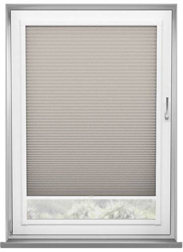 Perfect Fit Pleated Blinds Lexington Blackout Taupe