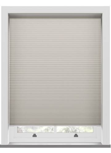 Pleated Blinds Lexington Blackout Taupe