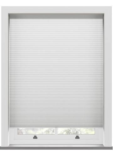 Pleated Blinds Lexington Blackout White