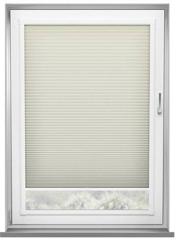 Perfect Fit Pleated Blinds Lexington Cream