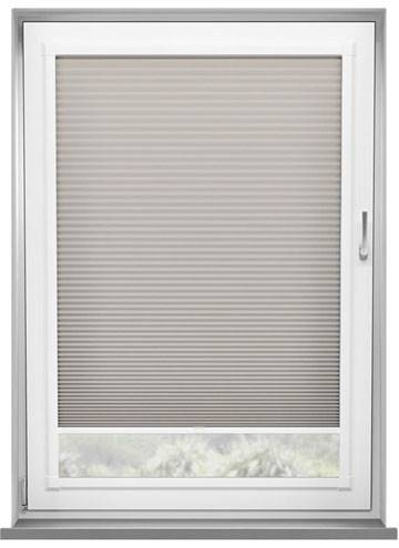 Perfect Fit Pleated Blinds Lexington Taupe