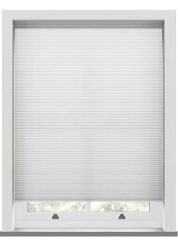Pleated Blinds Lexington White