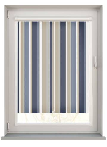 Perfect Fit Roller Blinds Lola Swing Blues