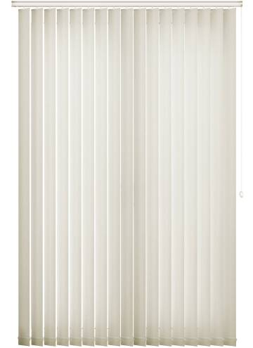 Vertical Blinds Lucca Blackout Chalk