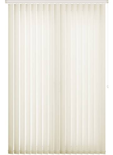 Vertical Blinds Lucca Blackout Cream