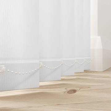 Vertical Blinds Lucca Blackout White