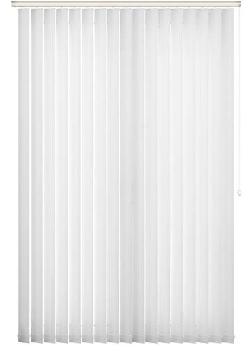 Replacement Vertical Blind Slats Lucca Blackout White
