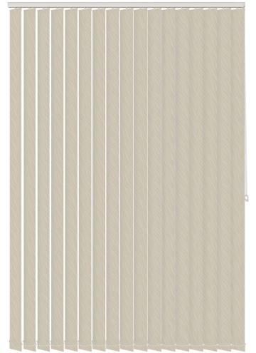 Vertical Blinds Luxari PVC Blackout Cream