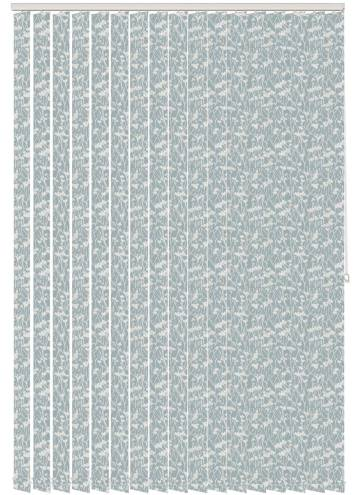 Replacement Vertical Blind Slats Meadow Dove Grey
