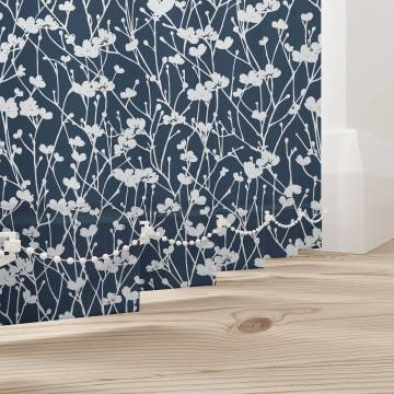 Replacement Vertical Blind Slats Meadow Nightingale Blue