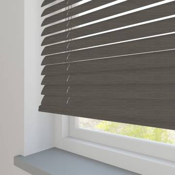 Venetian Blinds Metallic 50mm Brushstroke Silver TR0950