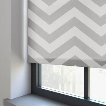 Electric Roller Blinds Mezza Gris