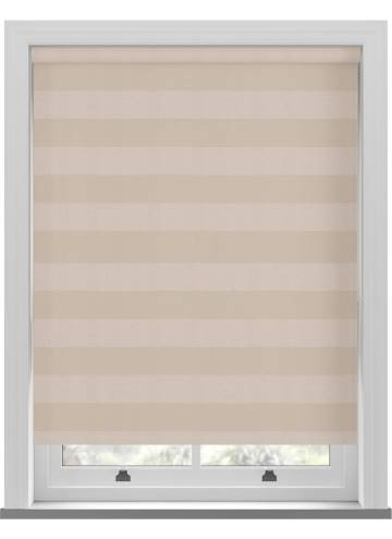 Roller Blinds Midas Stripe Blackout Opal Cream