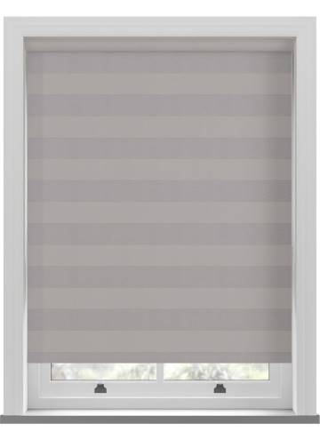 Roller Blinds Midas Stripe Blackout Shadow Grey