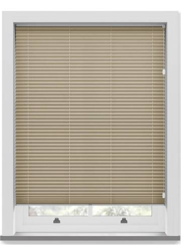 Pleated Free hanging Blinds Mirabella Solar Crush Espresso