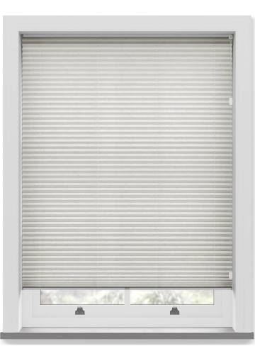 Pleated Free hanging Blinds Mirabella Solar Crush Ivory White